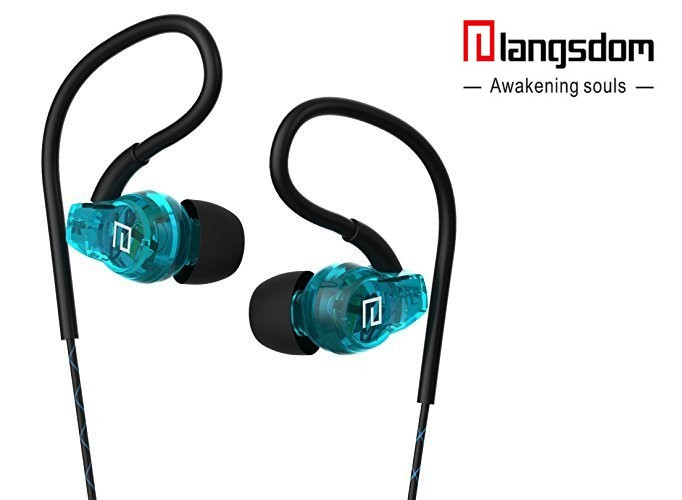 Наушники затычки для бега Langsdom SP80 Sweatproof