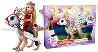 "Ever After High Dragon Games Apple White Doll and Braebyrn Dragon  ""Игры Драконов"""