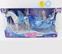 Карета с куклой и лошадкой 227A