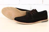 Черные туфли из нубука