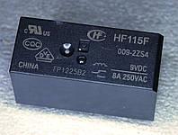 Реле электромеханическое  HF-115F 009-2ZS4;  9VDC,