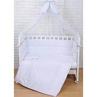 Kомплект постельный с балдахином White Ivy Верес 7 эл