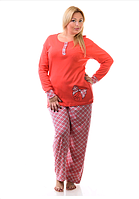 Женская пижама большого размера