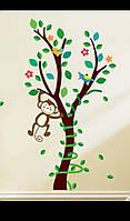 Интерьерные виниловые наклейки для детской комнаты 45*85см.