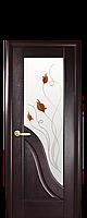 Маэстра Амата венге со стеклом и рисунком