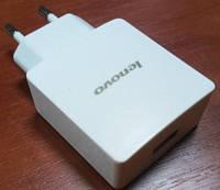 ЮСБ зарядка Lenovo 2.4 A для планшетов белое Оригинал