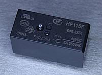Реле электромеханическое  HF-115F 048-2ZS4;  48VDC,