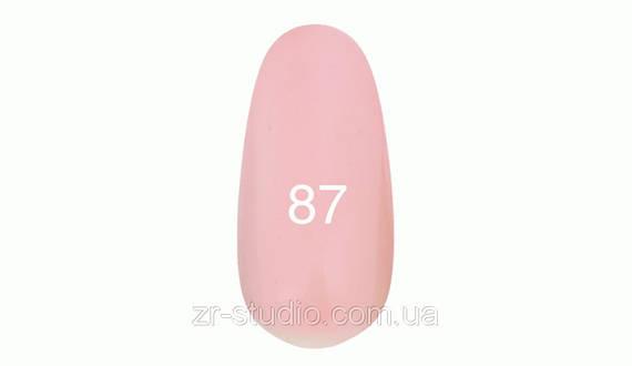 Гель лак Kodi professional 7мл. №87 (Бледно-розовый ( под френч))