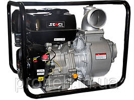 Мотопомпа  SENCI  SCWP100С (для чистой и слабозагрязнённой воды, 96 куб.м/час) Бесплатная доставка