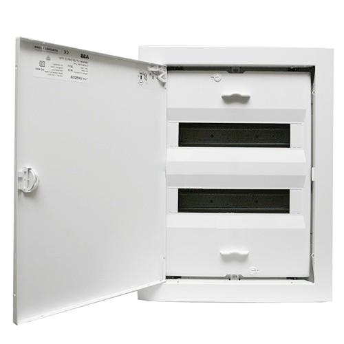 ABB UK520E. Щит на 24(28) модулей внутренней установки с металлической дверью - Интернет-магазин «Energy» в Харькове