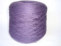 100% шерсть, RANIE-SEILER ASTRACHAN, цвет темно-фиолетовый