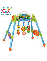 """Игровой развивающий центр «Huile Toys» (906) """"Маленький лес"""" 3 в 1 (звук. эффекты)"""