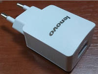 Комплект СЗУ+кабель Lenovo 2in1 2000 мА/ч для планшетов белый Оригинал