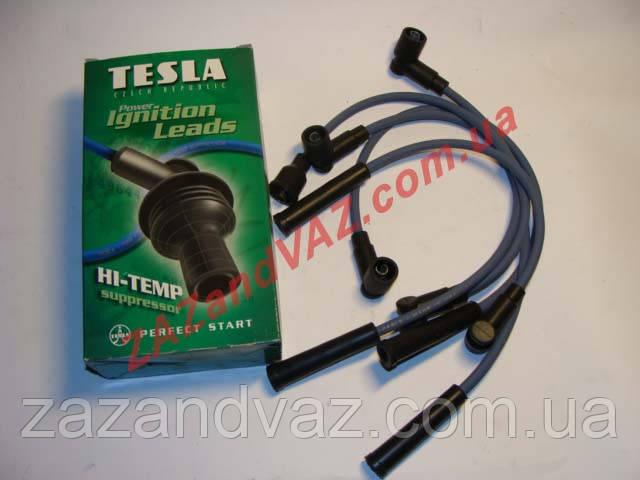 Провода свечные Tesla Чехия Таврия Славута карбюратор T137H