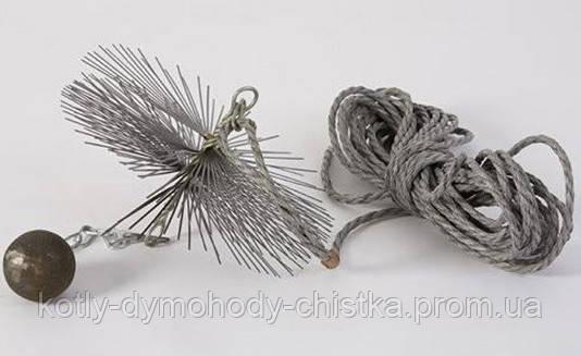 Щетка и веревка