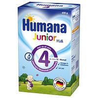 Детское растворимое молоко Junior Humana 600г