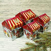Новогодняя подарочная коробка SS 1816 (4 шт.)
