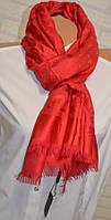 Палантин шарф в стиле Louis Vuitton (Луи Витон)  ярко-красный