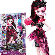 Кукла Монстер Хай Дракулаура Добро пожаловать в школу монстров Monster High Dance The Fright Away Transforming