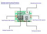 DC-DC Понижающий преобразователь / конвертер Mini 360 (XD-45 / MP2307DN / mp1584en), фото 2