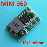 DC-DC Понижающий преобразователь / конвертер Mini 360 (XD-45 / MP2307DN / mp1584en), фото 7