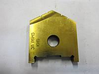Пластина сменная для перового сверла Ф 45 мм (2000-1228) Р6М5 Орша