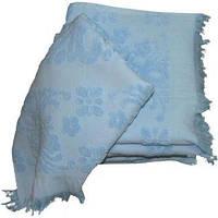 Полотенце ARYA с бахромой Isabel 70x140 см. голубой