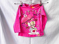 Свитшот оптом для девочек 1-3 лет,  разный цвет и рисунок