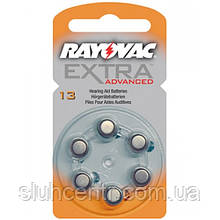 Воздушно-цинковые батарейки для слуховых аппаратов 13