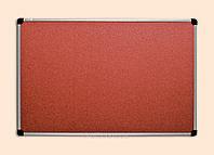 Доска для объявлений пробковая (100х150)