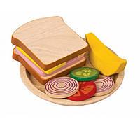 """Деревянная игрушка """"Сандвич"""", PlanToys"""
