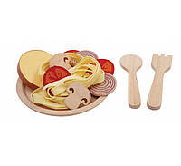 """Деревянная игрушка """"Спагетти"""", PlanToys, фото 1"""