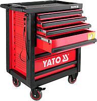 Шкаф сервисный Yato для инструментов на 6 шухляд YT-0902