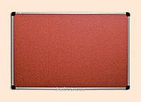 Доска для объявлений пробковая (65х100)