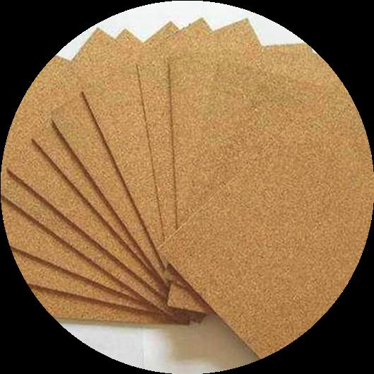 Пробковые листы мелкозернистые