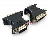 Переходник DVI-VGA Cablexpert A-VGAM-DVIF-01