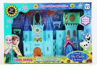 """Замок """"Frozen"""" SG 2993, музыка, свет, в наборе с мебелью и фигуркой принцессы, великолепный подарок детям"""