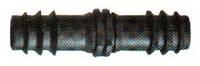 Соединитель для садовой трубки 16х16 мм