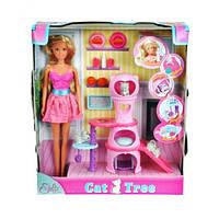 Кукольный набор Штеффи с домиком для котов Steffi & Evi Love