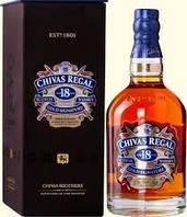Виски Бленд Шотландия  Чивас Ригал 18 лет 0,75л Chivas Regal 18 years