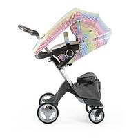 Летний комплект для коляски Xplory Stokke, разноцветные ленты