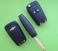 Chevrolet - remote key 433Mhz 2 кнопки, HU100