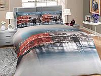 """Комплект постельного белья """"HOBBY"""" Sateen Deluxe New York 200*220"""