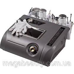 Комбайн — 7 в 1 Nova 97 УЗ-чистка,УЗ-внедрение,алмазный пиллинг,тепло,холод,микротоки с перчатками