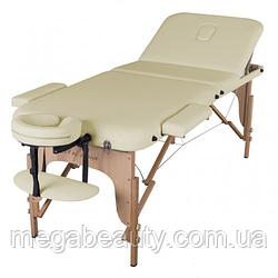 Масажний стіл складний ArtOfChoise Den (Світло-бежевий)