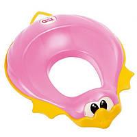 Накладка-сидение на унитаз Ducka Ok Baby, розовый
