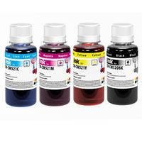 Комплект чернил ColorWay Canon MP230/250, iP2700, 4x100 мл (CW-CW520/CW521SET01)