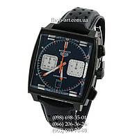 Мужские наручные часы Tag Heuer Monaco Calibre 12 Chronograph All Black