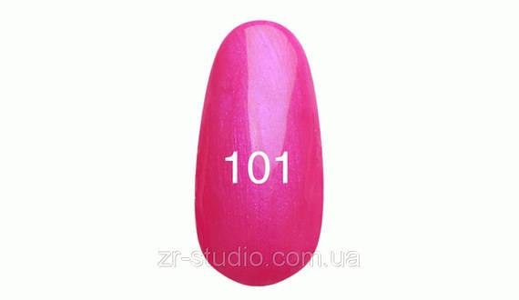 Гель лак Kodi professional 7мл. №101 (Неоново-розовый.с перламутром)