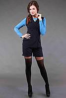 Стильный женский костюм шорты и жакет в 3х цветах AL 13113